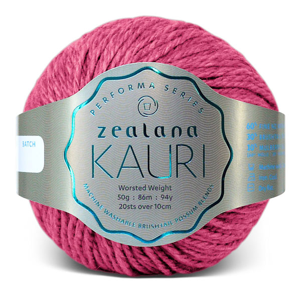 Knitting Wool Crochet Zealana-K11 Pink Roha knitting yarn nz
