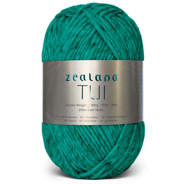 Knitting Wool Crochet Zealana-Tui-T11 Emerald knitting yarn nz