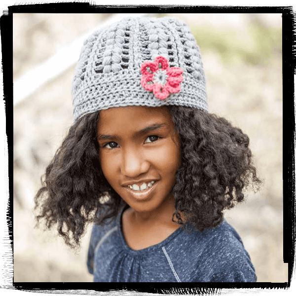 Free-Knitting-Pattern-GIRLS-BEANIE