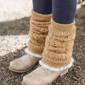 Free Knitting Pattern Ribbed Leg Warmers : Free Knitting Pattern Archives - uberyarn.com