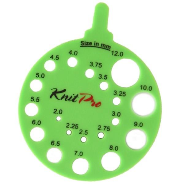knitpro round view sizer 4