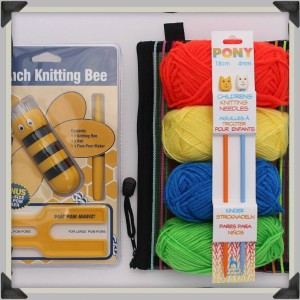 Kids Learn to Knit Set Square 2