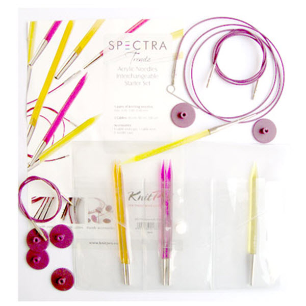 KNITPRO Trendz Interchangeable Circular Needles Starter Set