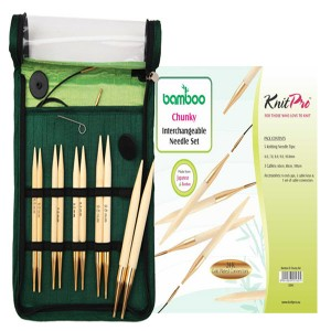 KNITPRO Bamboo Interchangeable Circular Needles Starter Set