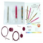 KNITPRO Comby Interchangeable Circular Needles Sampler Set-I