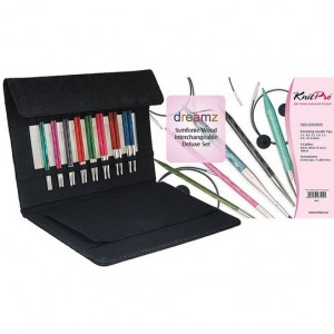 Uberyarn Knitpro Dreamz DELUXE Interchangeable Circular Needle Set – Radiant colours
