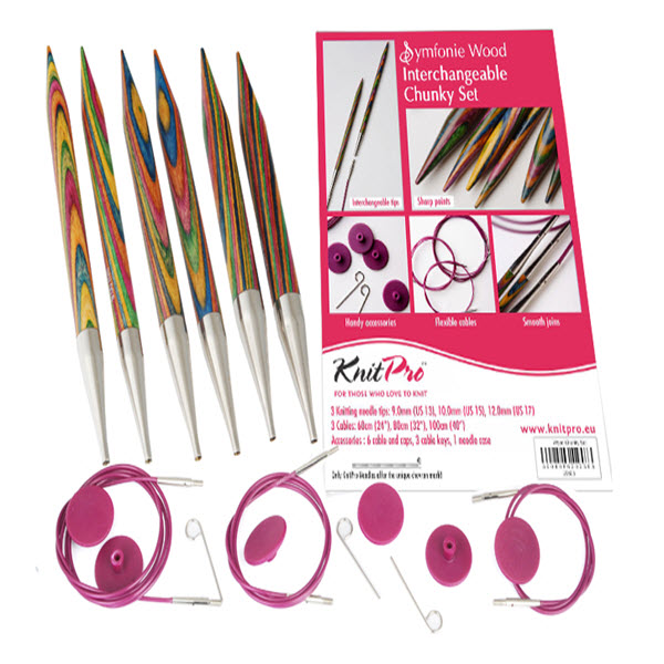 KNITPRO Interchangeable Circular Needle Chunky Set