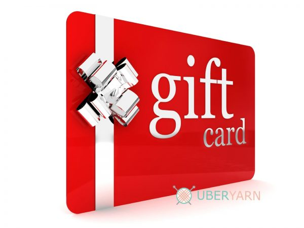 for her gift voucher certificate card