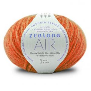 Zealana AIR Chunky Luxury Knitting Yarn L13-celosla